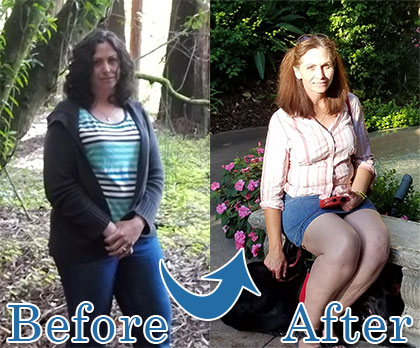 Sheri Clark : Before and After