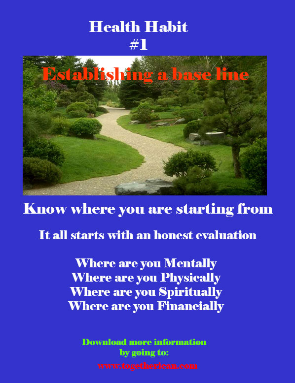 Healthy Habit 1 : Know Your Starting Point