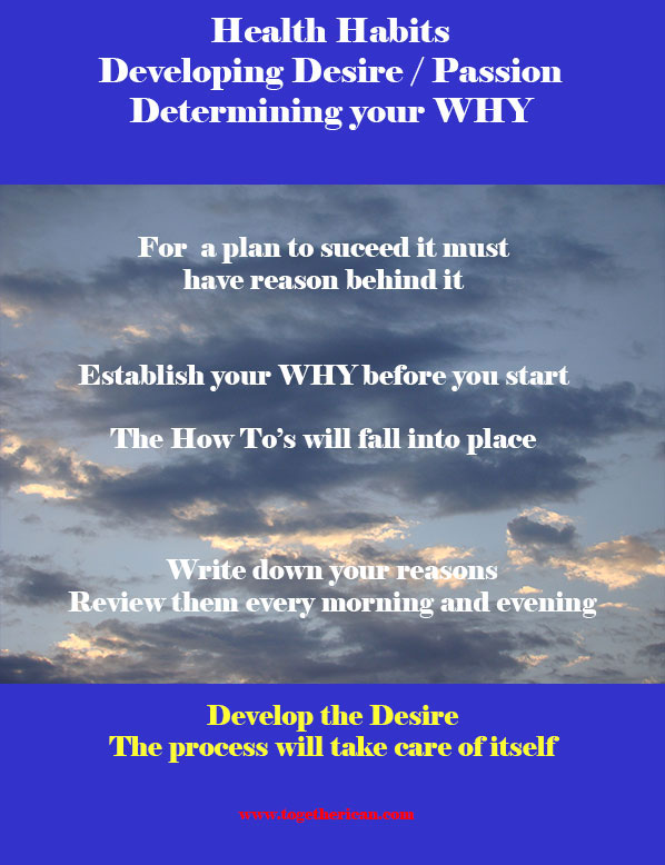 Healthy Habit 3 : Developing Desire and Passion