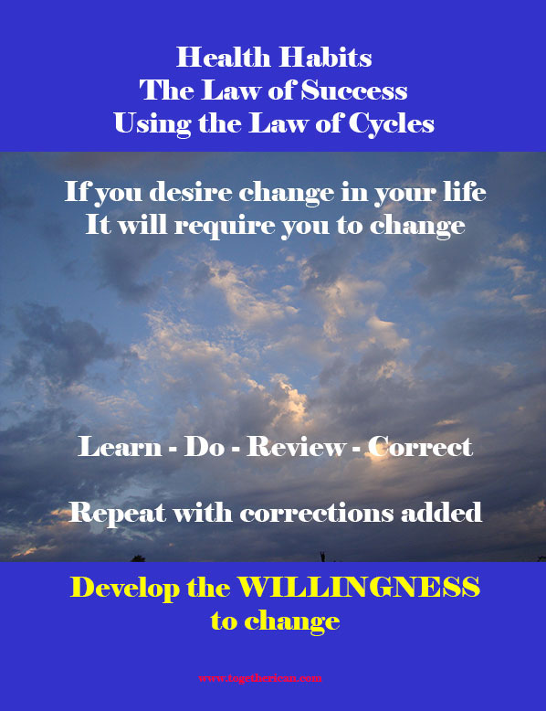 Healthy Habit 7 : The Law of Success